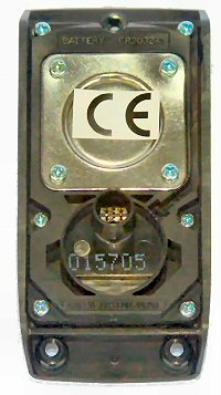 CC8900 R&uuml;ckseite <br> Sensorkabel wird gesteckt
